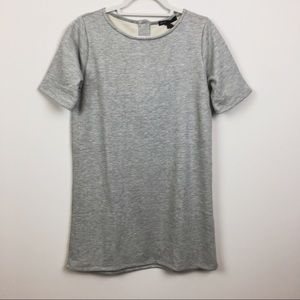 Gibson Grey Short Sleeve Dress